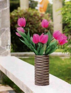 Как сделать тюльпан из капрона