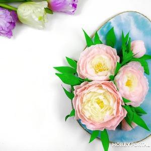 Декоративное пасхальное яйцо из бумаги