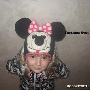 ШАПКА Минни МАУС