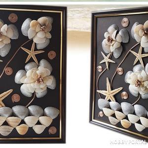Создаём лёгкий в изготовлении декор из ракушек