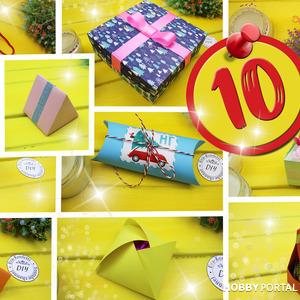 Как сделать подарочные коробки своими руками (10 способов в видео МК)