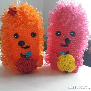 Мочалки-игрушки