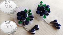Школьные Резинки для волос с цветами