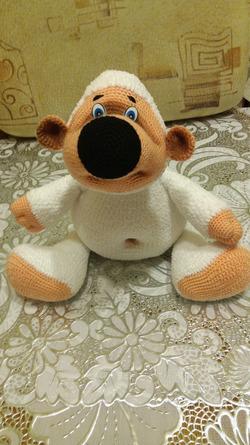 Игрушка мишка Плюшик