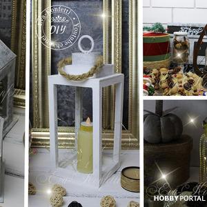Как сделать декоративный фонарь. 4 идеи