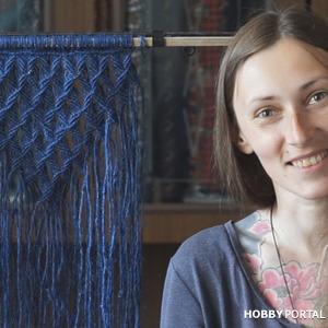 МК по плетению панно макраме
