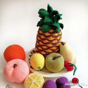 Мастер класс по созданию моего варианта фруктов