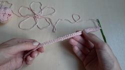 Вяжем крючком эластичный наборный край столбиками без накида / Завязки крючком / Crochet edge