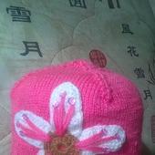 Шапочка с цветком