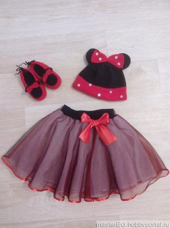 Комплект Minnie Mouse ручной работы на заказ
