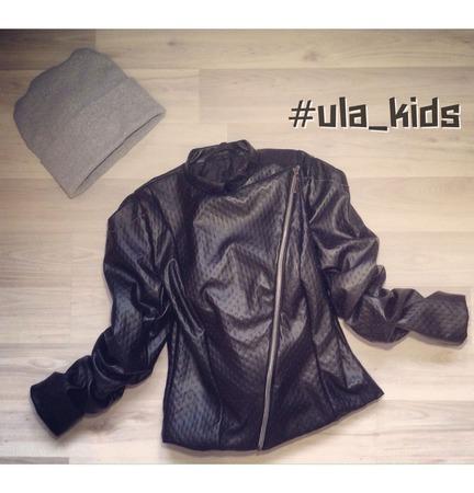 Куртка-косуха из эко-кожи ручной работы на заказ