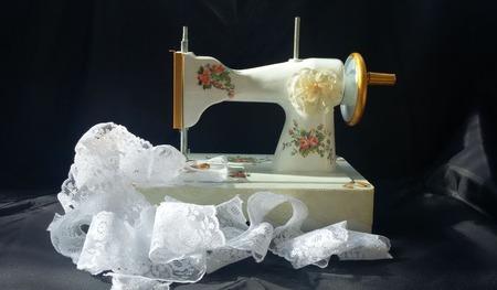 """Интерьерная швейная машинка """"Нежность"""" ручной работы на заказ"""