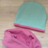 Комплект шапочка+снуд