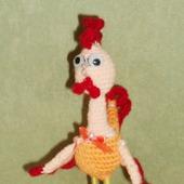 Сувенирная игрушка Петушок