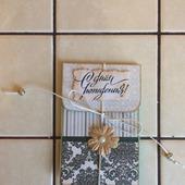 Конверт для подарочной карты на день рождения