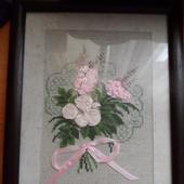 фото: Картины и панно (атласный цветок)
