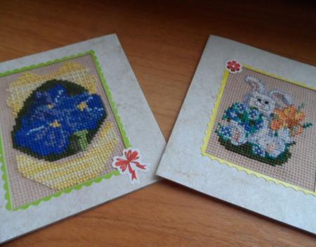 Пасхальные открытки ручной работы на заказ