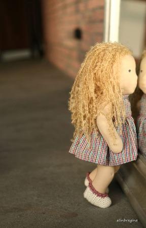 Игровая кукла в вальдорфском стиле ручной работы на заказ