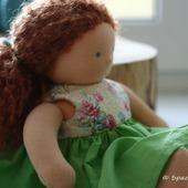 Вальдорфская кукла Любочка