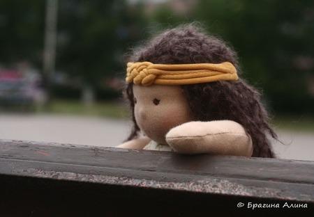 Кукла вальдорфская Натали ручной работы на заказ