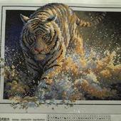 Алмазная вышивка - Тигр