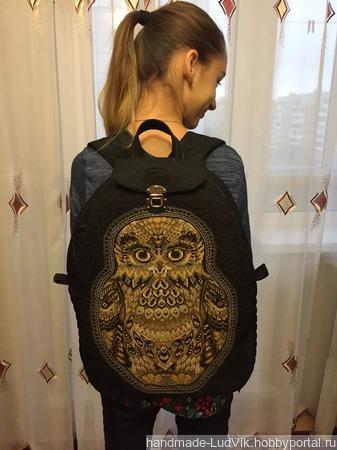 Рюкзак школьный ручной работы на заказ