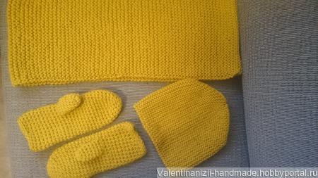 Тёплые и уютные комплекты для холодной зимы ручной работы на заказ