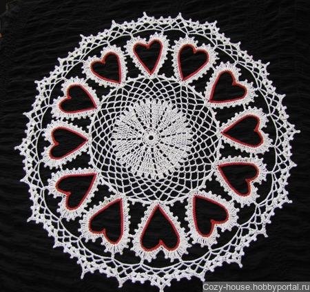 Салфетка «My Heart is Complete» ручной работы на заказ
