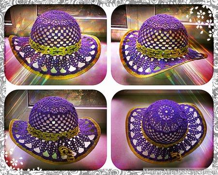 Шляпа для лета ручной работы на заказ