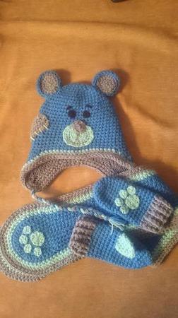 Комплект мишка Тедди ручной работы на заказ