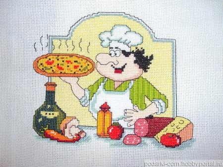 Вышивка для кухни ручной работы на заказ