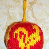 Елочный шарик Петух