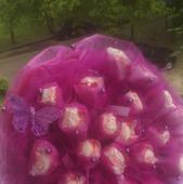 Букет из конфет рофаэлло