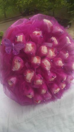 Букет из конфет рофаэлло ручной работы на заказ