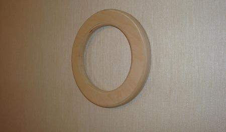Комплект круглых рамок (заготовка для декупажа и росписи) ручной работы на заказ