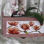 """Ящик для  цветов """"Магнолия"""""""