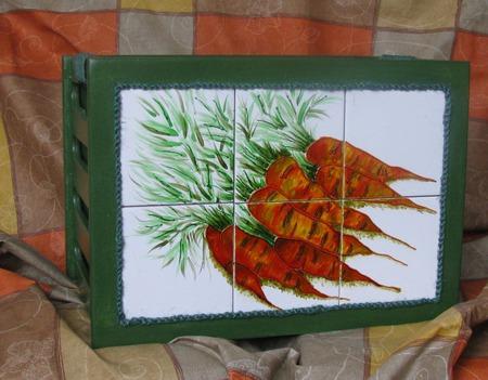 Ящик для хранения овощей ручной работы на заказ