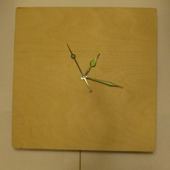 Заготовка для часов с маятником