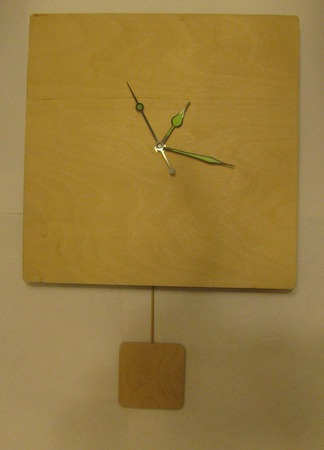 Заготовка для часов с маятником ручной работы на заказ