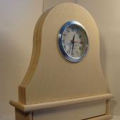 Часы каминные с ящиком