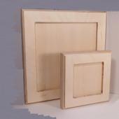 Деревянная рамка для декорирования малая (большая)