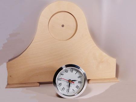 Часы каминные ручной работы на заказ