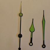 Стрелки для часового механизма