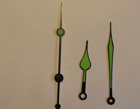 Стрелки для часового механизма ручной работы на заказ