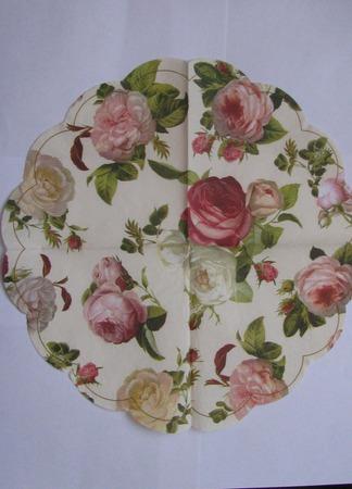 """Салфетки 6 видов """"Цветы. Розы"""" ручной работы на заказ"""
