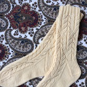 Носки ажурные