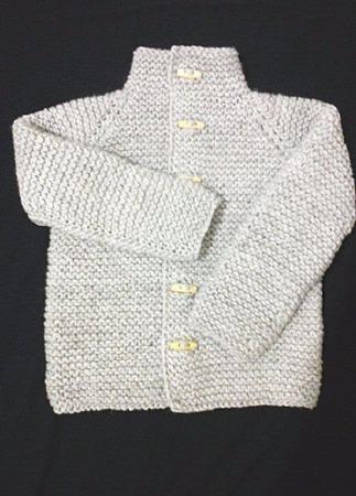 Вязаный детский кардиган Мраморный для мальчика или девочки ручной работы на заказ