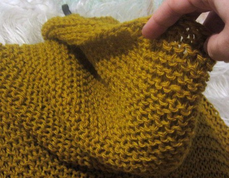 Горчица вязаная безрукавка, вязаный жилет ручной работы на заказ