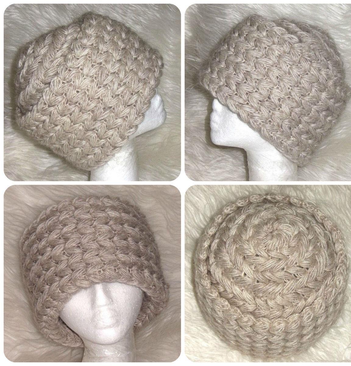 бежевая шапка из мохера теплая зимняя вязаная шапка купить в