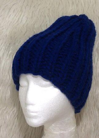 Зимняя вязаная теплая мужская шапка бини ручной работы на заказ